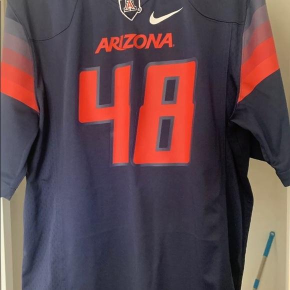 rob gronkowski university of arizona jersey